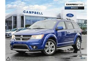 2012 Dodge Journey R/T Rallye 43,000 KMS-AWD-LOADED-LEATHER