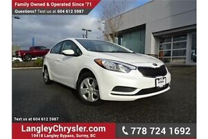 2014 Kia Forte 1.8L LX LOCALLY DRIVEN & ACCIDENT FREE
