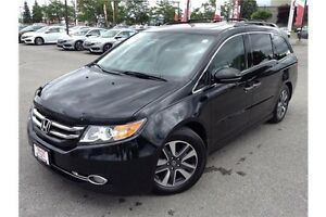 2014 HONDA ODYSSEY TOURING - LEATHER - GPS NAVIGATION - REAR CAM