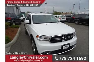 2015 Dodge Durango Limited w/DUAL DVD'S, LEATHER  & SUNROOF
