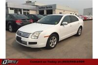2007 Ford Fusion SE 6 SPEED MANUAL, PWR SEATS, SEATS 5