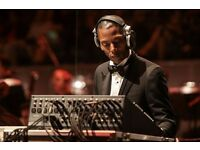 2-6 Jeff Mills Barbican London stall tickets. Front row and second row tickets!