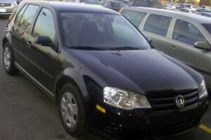 2009 Black Volkswagen Golf City