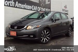 2013 Honda Civic Touring $128 Bi-Weekly