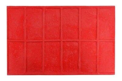 Worn Brick Rowlock 5 Pc. Concrete Stamp Set By Walttools