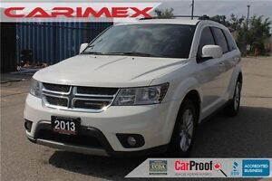 2013 Dodge Journey SXT/Crew SXT | V6 | 7 Passenger | CERTIFIED