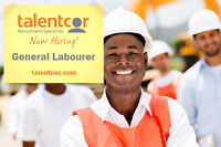 General Labour-Immediate Openings