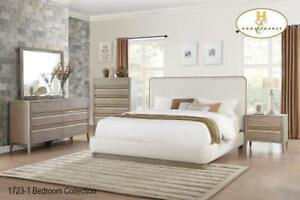 8 PC Queen Contemporary Bedroom Set on Sale (BD-2322)