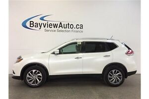2015 Nissan ROGUE SL- AWD! PANOROOF! LEATHER! NAV! PURE DRIVE!