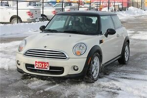 2012 Mini Cooper | Bluetooth | Heated Seats | Sunroof | CERTI...