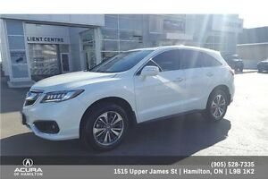 2016 Acura RDX Base ELITE, LOW KM'S, EXTRA CLEAN, LOADED