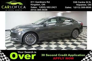 2017 Ford Fusion SE AWD - LOW KMS**REMOTE START**HEATED SEATS