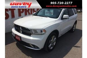2015 Dodge Durango Limited AWD, SUNROOF, NAVIGATION