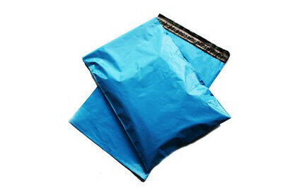100x Blue Mailing Bags 17x21