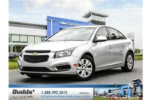 2016 Chevrolet Cruze Limited 1LT 0.9% for up to 24 months O.A...