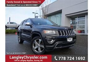 2016 Jeep Grand Cherokee Limited LOCALLY DRIVEN & ACCIDENT FREE