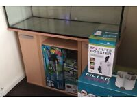 55 gallon tank and extras