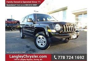 2013 Jeep Patriot Sport/North LOCALLY DRIVEN & ONE PREVIOUS O...