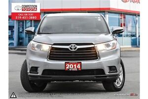 2014 Toyota Highlander LE Toyota Certified, One Owner, Toyota... London Ontario image 2