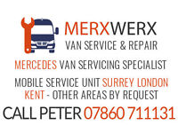 Mobile sprinter van servicing, repair, maintenance expert. We come to you 15 miles radius of Croydon