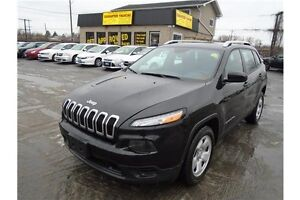 """2014 Jeep Cherokee GUARANTEED APPROVALS """"RATES AS LOW AS 3.99%!!"""