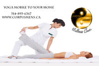 Thai Yoga Massage to your home. $50