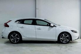 Volvo V40 D2 R-DESIGN (white) 2015