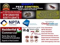 Pest Control |Bed bugs|Mice|Rat |Cockroaches|Ants|Flies|Fleas| Extermination & Fumigation Service