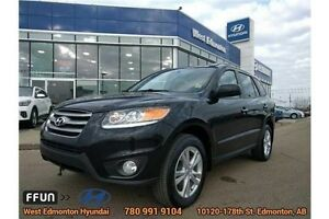 2012 Hyundai Santa Fe Limited AWD Leather Bluetooth- $169 BW!