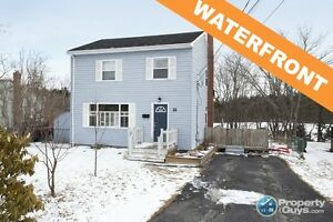 Waterfront 2 storey home in Leblin Park.
