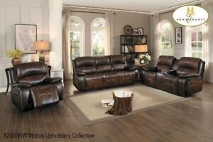 Leather Recliner Sofa and Loveseat on Sale (BD-2392)