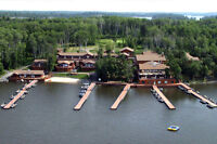 Wiley Point Lodge on Lake of the Woods. Hiring Dock-hands