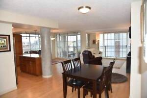 Beautiful fully furnished 2 bed/2full bath condo, downtown