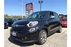 2015 Fiat 500L Lounge Lounge !! LEATHER !! SUNROOF !! NAVI !!