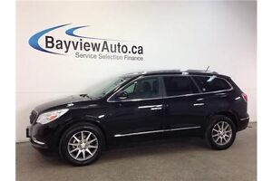 2016 Buick ENCLAVE - AWD! LEATHER! REMOTE START! INTELLILINK!
