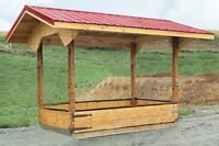 Tradesman built shelters, coops, hutches, and sheds