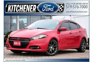 2013 Dodge Dart SXT/Rallye RALLYE TURBO/6 SPD STICK/ALLOYS/SP...