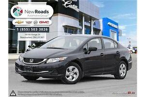 2014 Honda Civic LX LX | AUTO, A/C, BLUETOOTH