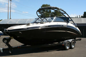 Owners personal Yamaha jet sport boat... but zero hours!!