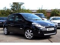 2012 RENAULT CLIO 1.2 I-MUSIC EDITION 5DR BLACK BLUETOOTH ALLOYS ONLY 33K MILES
