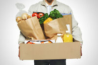 Quick and easy grocery shopping services