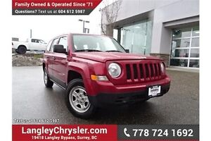 2012 Jeep Patriot Sport/North W/ 6-SPEED MANUAL