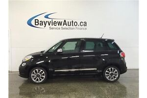 2015 Fiat 500L LOUNGE- TURBO! PANOROOF! NAV! PARK AID!