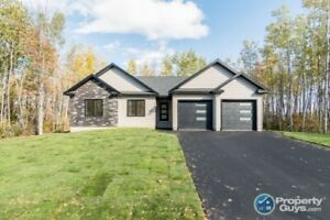 Brand new build with 4 bdrm/2 bath & partially finished bsmt