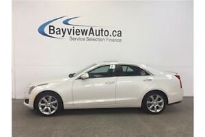 2013 Cadillac ATS LUXURY - AWD! NAV! SUNROOF! LEATHER! REV CAM!