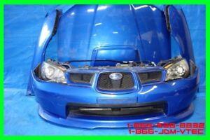 JDM Subaru Impreza WRX STi Front End ConversionV9 2006-2007