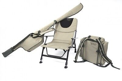 Korum NEW Coarse Fishing Roving Chair And Luggage Kit   KCHAIR/48