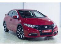 Honda CIVIC I-VTEC SE PLUS (red) 2014