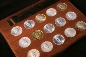 Achète collection de monnaie