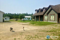 8 ACRES QUESNEL BC BARN, RIDING ARENA, SHOP, KENNEL, RUNS
